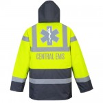 Central Hi-Vis Contrast Traffic Jacket