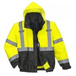 Central Hi-Vis Premium 3-in-1 Bomber