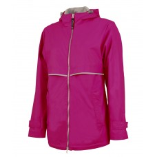 Womens Charles River New Englander Rain Jacket