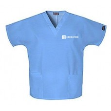 Unisex Embroidered Scrub Top
